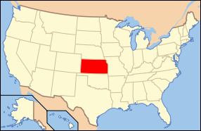 State of Kansas, Points of Interest, Lodging, Business Listing ...